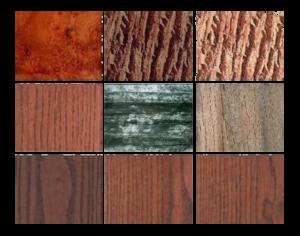 материал мебели из массива