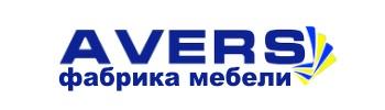 логотип фабрики мебели Аверс