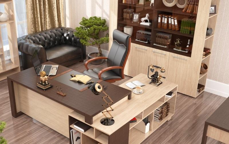 офисная мебель, кабинет директора