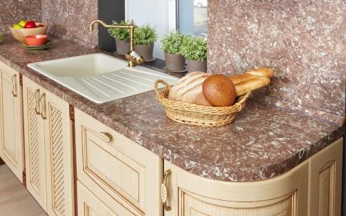 столешница, кухонная мебель