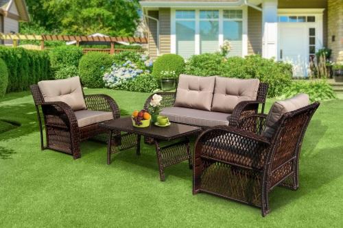 мебель для сада из ротанга