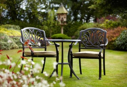 мебель для сада металлическая