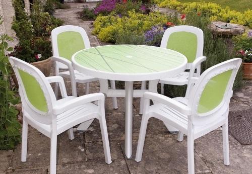 мебель для сада из пластика