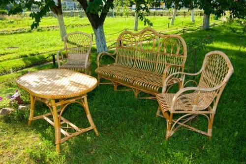 мебель для сада из лозы